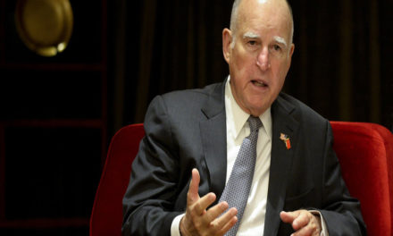Jerry Brown Deflecting Socialist Failure