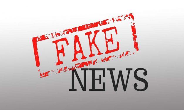Fake News Should Make True Journalist Feel Shame
